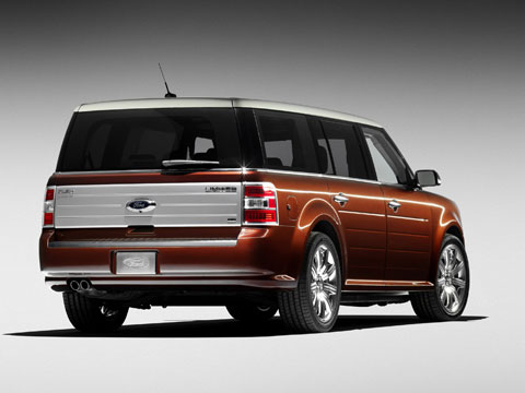 2009 Ford Flex Rear 33391.jpg