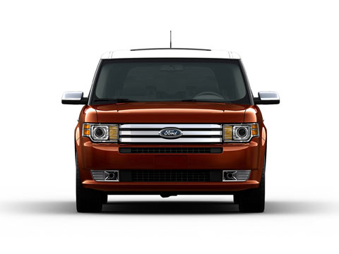 2009 Ford Flex Rear 33392.jpg