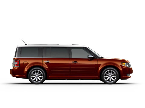 2009 Ford Flex Rear 33396.jpg